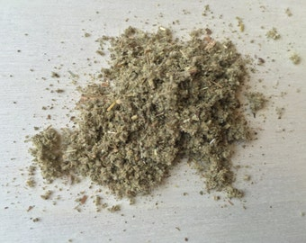 Sage, Salvia officinalis (Rubbed) ~ Sacred Herbs and Spices from Schmerbals Herbals
