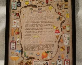 1960s Bar Art
