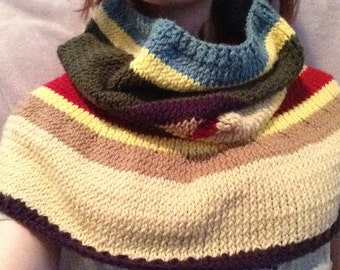Doctor Who Fourth Doctor oversized cowl