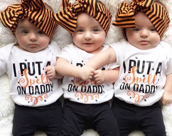 Spell on Daddy shirt, halloween shirt, witch shirt, girls halloween shirt, baby halloween shirt, boys halloween shirt, toddler halloween