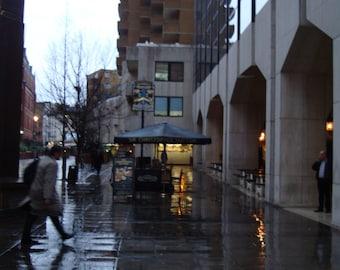 Rainy Day In London photo