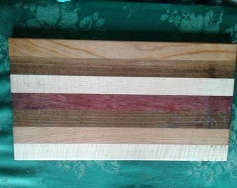 Hand made cutting boards.