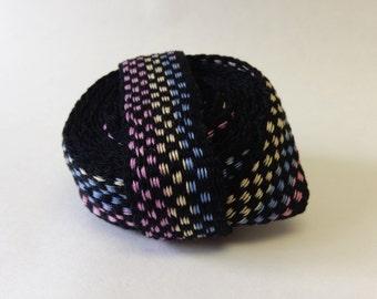 Rainbow Checkered Trim/band