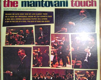 Mantovani and His Orchestra - The Mantovani Touch PS-526 Vinyl Record LP 1968