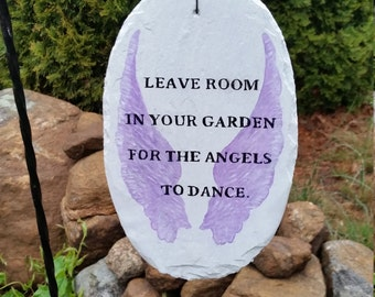 Leave Room in your Garden,  Angel sign