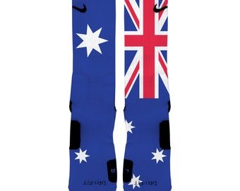 Australian Flag Elite Graphic Socks