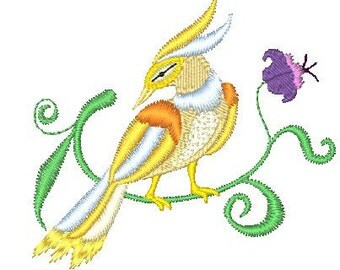 Birds of a Feather  ( 28 Machine Embroidery Designs from ATW )