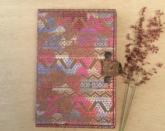 Handmade cork journal / notebook / sketch book