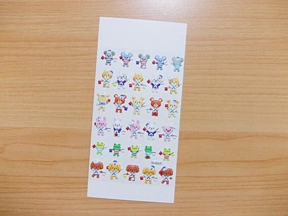 Sailor Seaman Puffy Sticker Raised Surface Vinyl 1