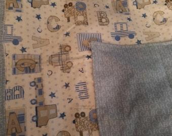 large flannel burp cloth
