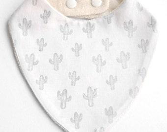 Cotton bandana bib sponge bio cactus