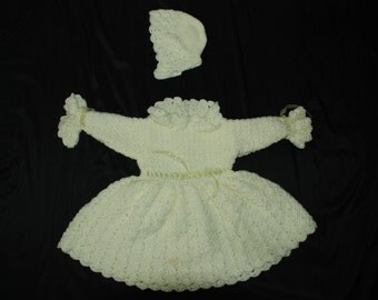 12 - 18 month Yellow Infant Dress