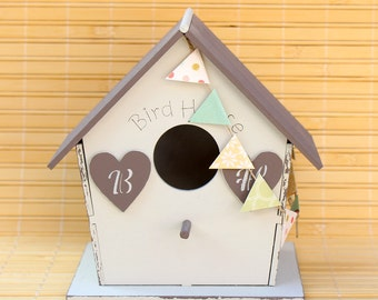 Birdhouse decor