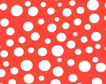 Lolli Dot in Orange by Michael Miller