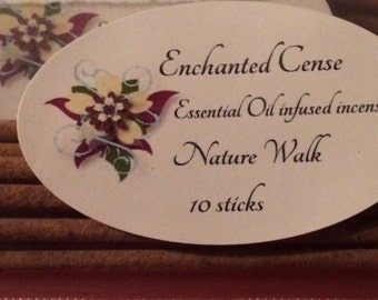 Nature Walk Essential Oil Incense 10 pk