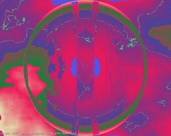 FRACTAL #5544 (Trippy ChromaDepth 3D Digital Download. 1024x768)