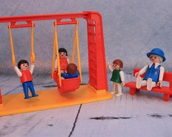 Vintage Playmobil swing set complete 3552