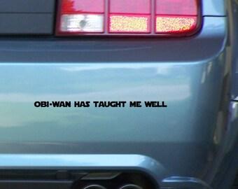 My Other Car Is The Millennium Falcon Vinyl Bumper Sticker - Vinyl bumper stickers