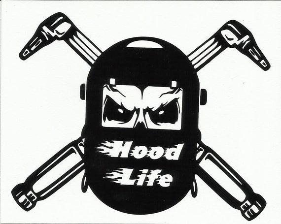 Hood Life Torch Welder Vinyl Jeep Vehicle by ...