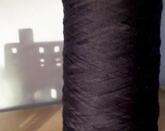 Black Cotton Yarn (100%) - 100g