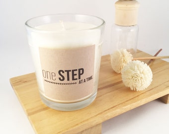 7.5oz Statement Candle: One step at a time