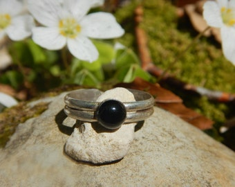 Ring Onyx & 925 Silver