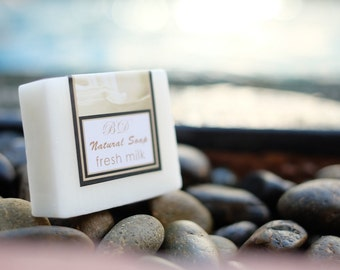 Milk Soap - Handmade Soap, Glycerin Soap, Handcrafted Soap, Natural Soap