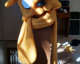Jake the Dog Hat and Scarf