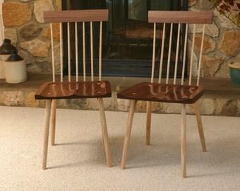 Side Chair in Walnut