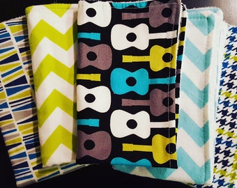 Baby Burp Cloths (Set of 5)