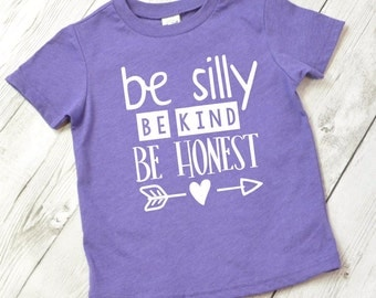 Be kind shirt for kids, kindness shirt, be happy shirt, kind is the new cool, kind kid shirt, kind heart shirt for kids