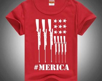 Riffle American Flag