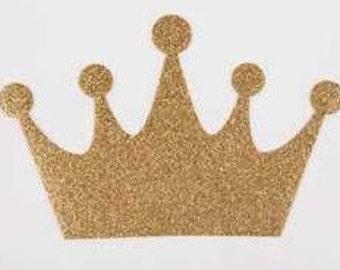 Gold princess crown baby onesie/ creeper
