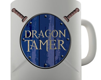Dragon Tamer Ceramic Novelty Mug