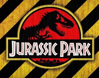 Jurassic Park Edible Image/Cake Topper