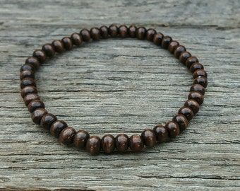 Beaded Bracelet - Wooden
