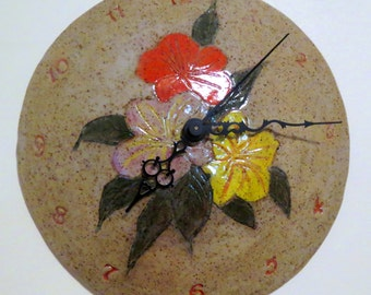 Vintage Ceramic Wall Clock