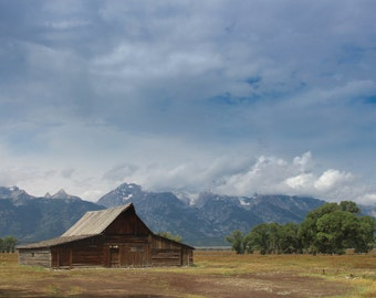 Rustic Barn, Grand Teton, Landscape Photography