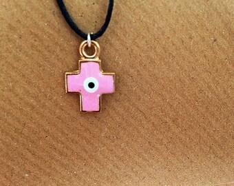 Evil Eye Cross
