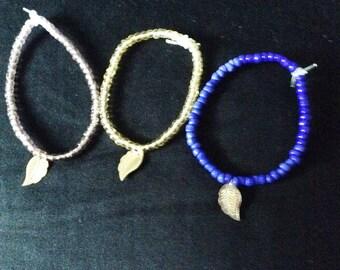 Zen inspired beaded bracelets
