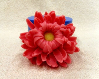 Chrysanthemum - silicone mold for soap and candles making mould molds soap mold flower