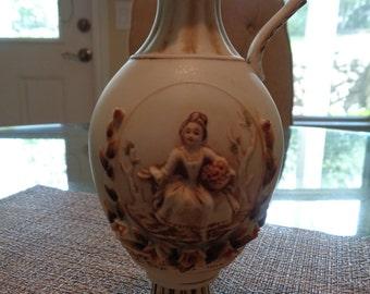 Delicate Handpainted Vase