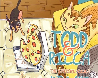 Todd & Ricca The Pepperoni Pizza
