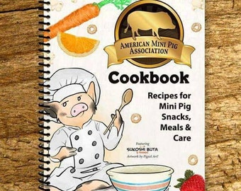 AMPA Mini Pig Cookbook (Printed Book, Spiral Bound)