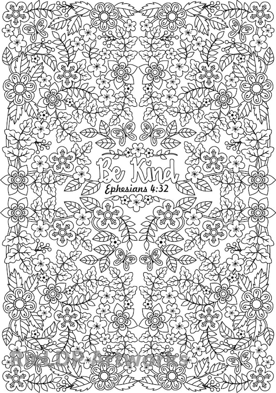 Free Bible Verse Coloring Pages For Adults