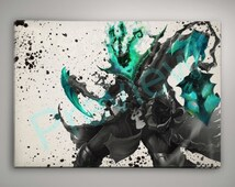 Thresh print Buy ANY 2 get 3rd FREE League of Legends Poster