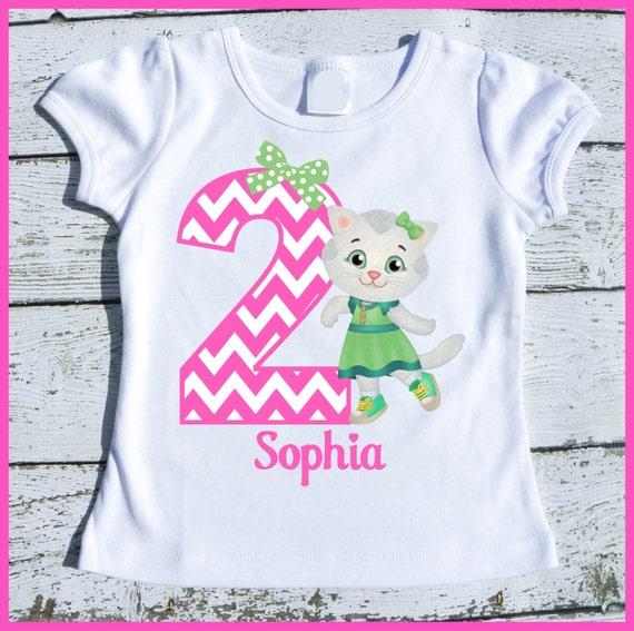 Custom Personalized Katerina Kitty Birthday tee shirt
