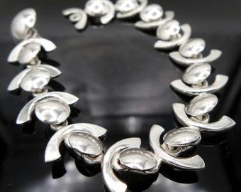 Bracciale Ag 925. 19,2 cm. di lunghezza. Bracelet in Sterling Silver. Length 19,2 cm.