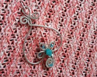 Shawl pin, hair pin, hair accessory, scarf pin