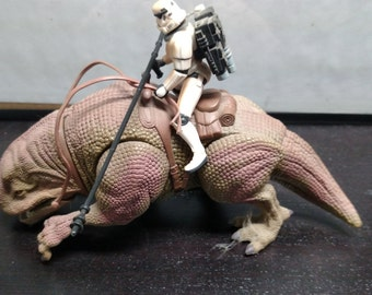 Star Wars Trilogy Edition POTF DEWBACK and SANDTROOPER loose